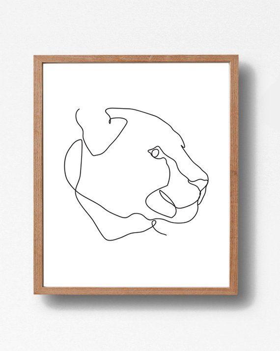 Animal Sketch Art Prints