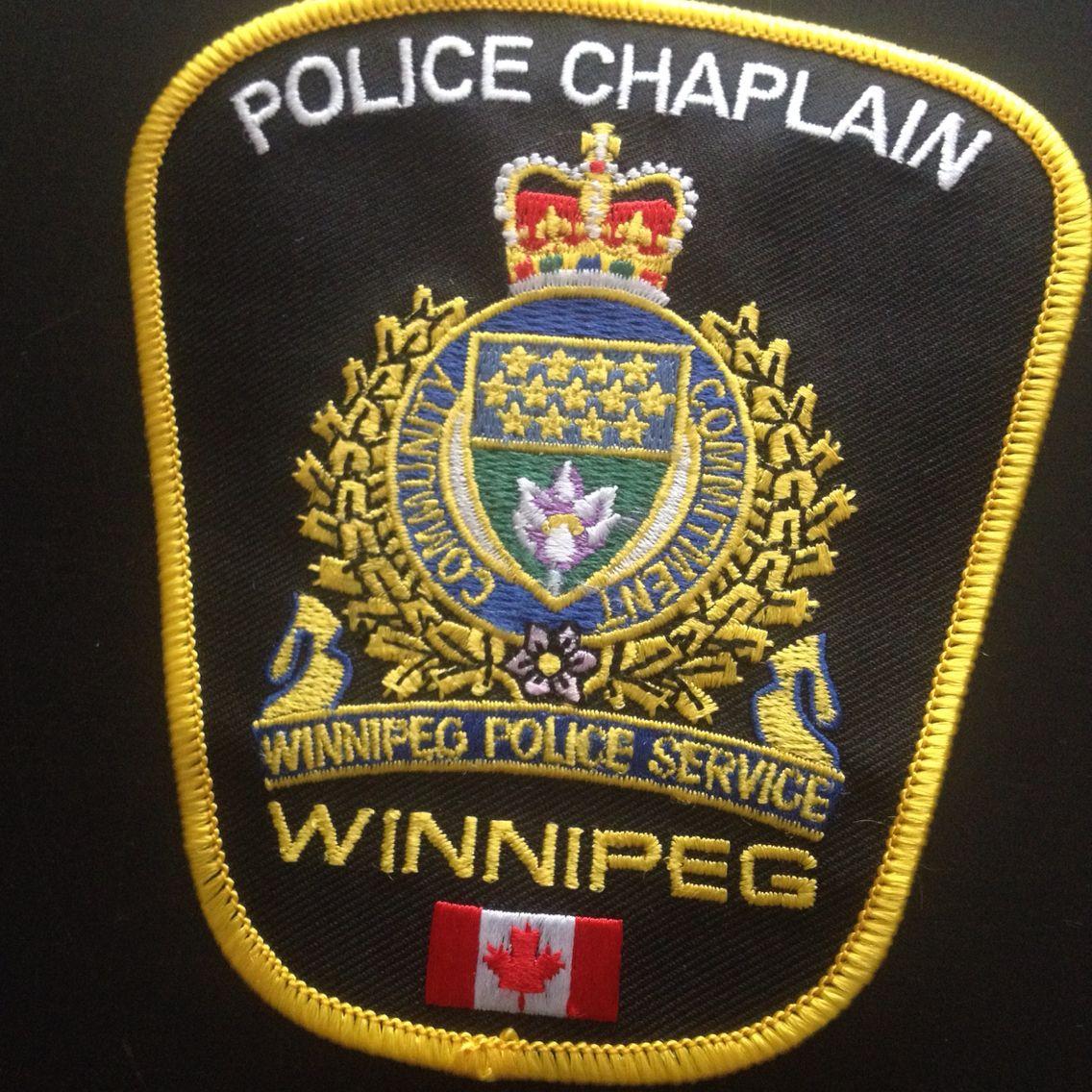 winnipeg police chaplain badges police chaplain