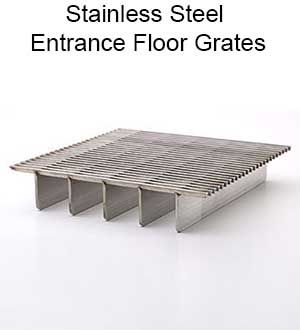 Stainless Steel Entrance Floor Grates Steel Entrance
