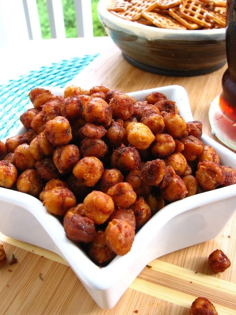 Snack Attack #2: Chili-Lime Roasted Chickpeas