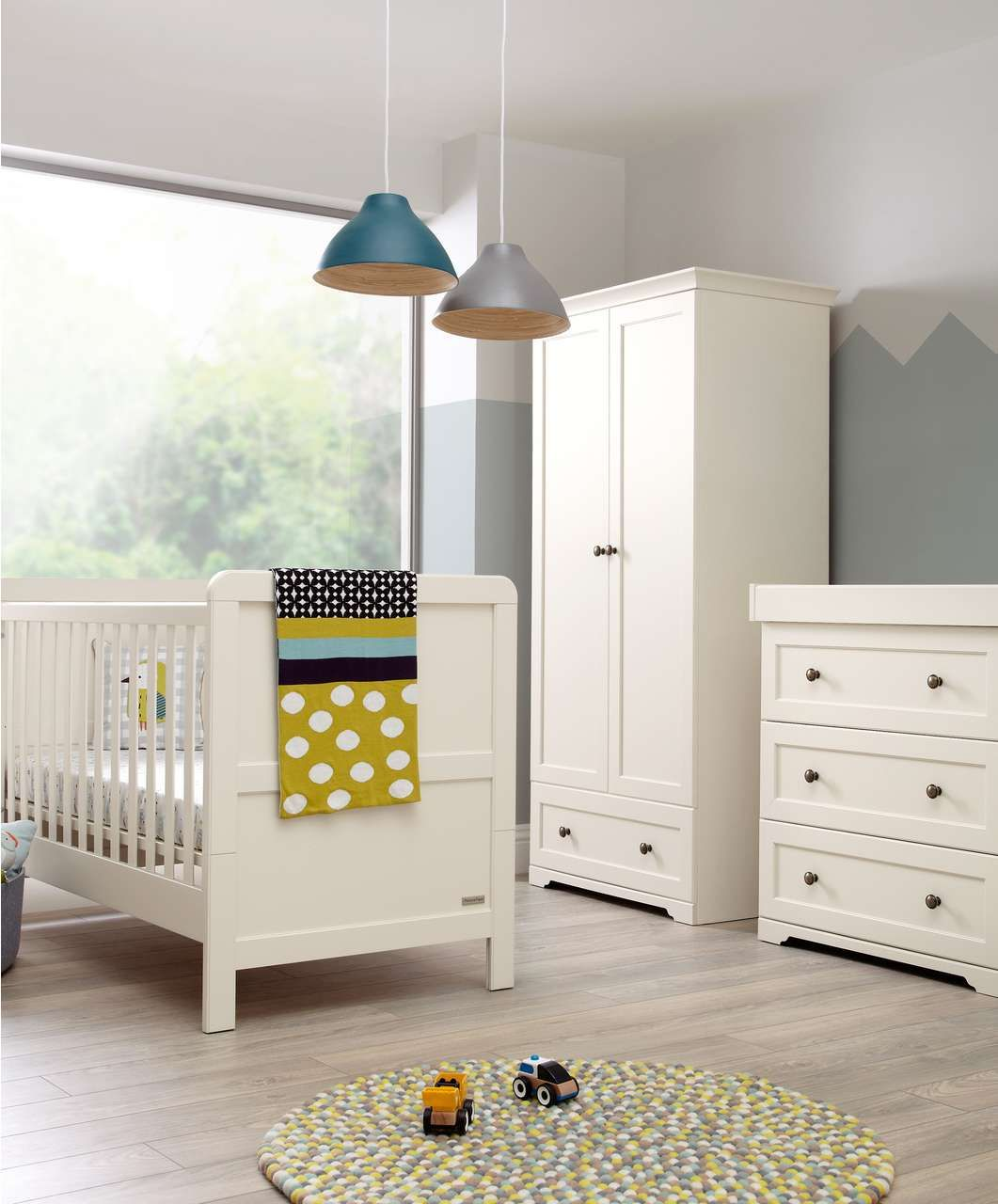 Sienna 3 piece set white whites ivories mamas for Baby furniture