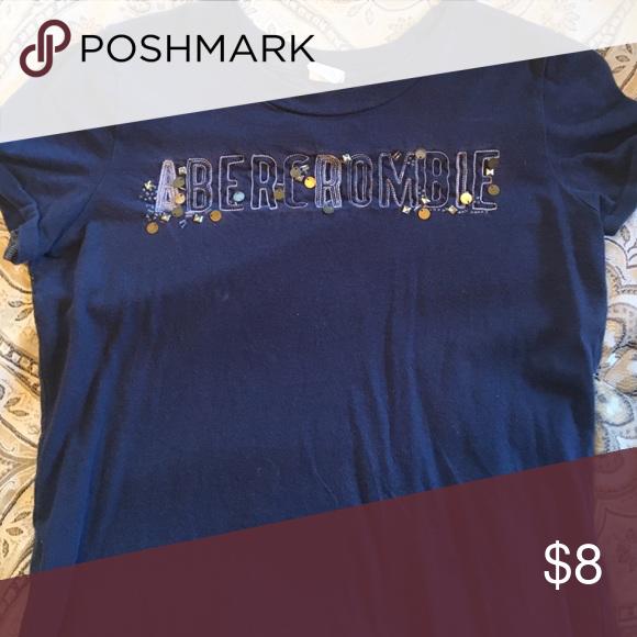 Abercrombie T shirt Abercrombie beaded/sequin T shirt Tops Tees - Short Sleeve