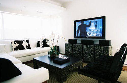 Black And White Living Room Furniture - Euskal.Net