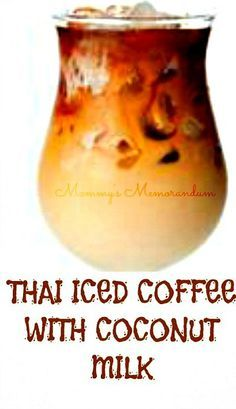 This Thai Iced Coffee recipe combines my love for espresso with a taste of the tropics in coconut milk. Enjoy!