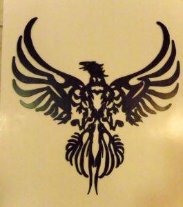 Potterblogger Com Southwest Birds Phoenix Rising Metal Art
