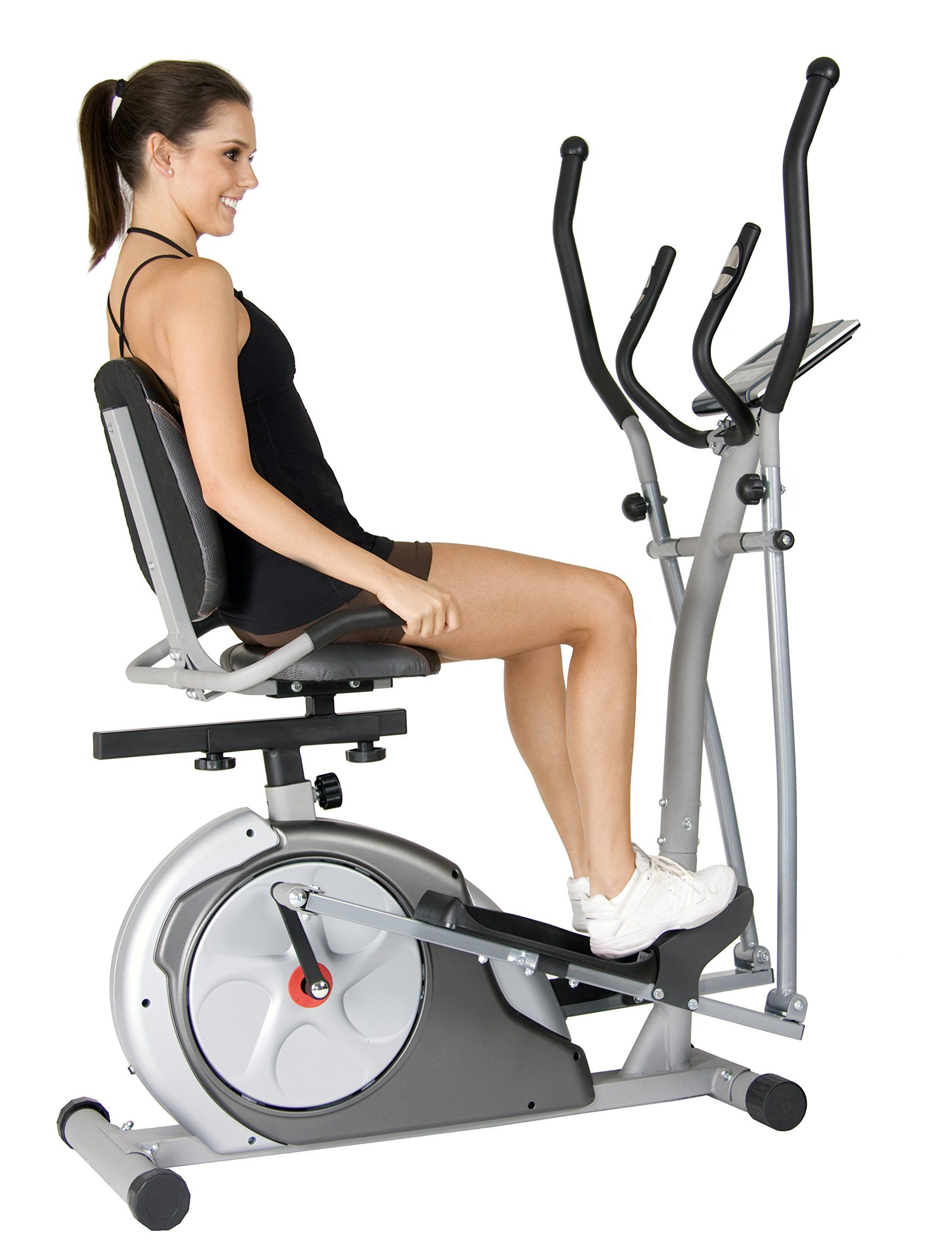 Amazon Com Body Rider 3 In 1 Trio Trainer Silver Red Exercise