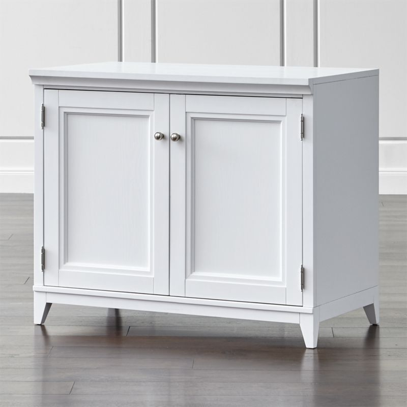 Shop Harrison 36 White Base Cabinet With Doors Designed By Blake