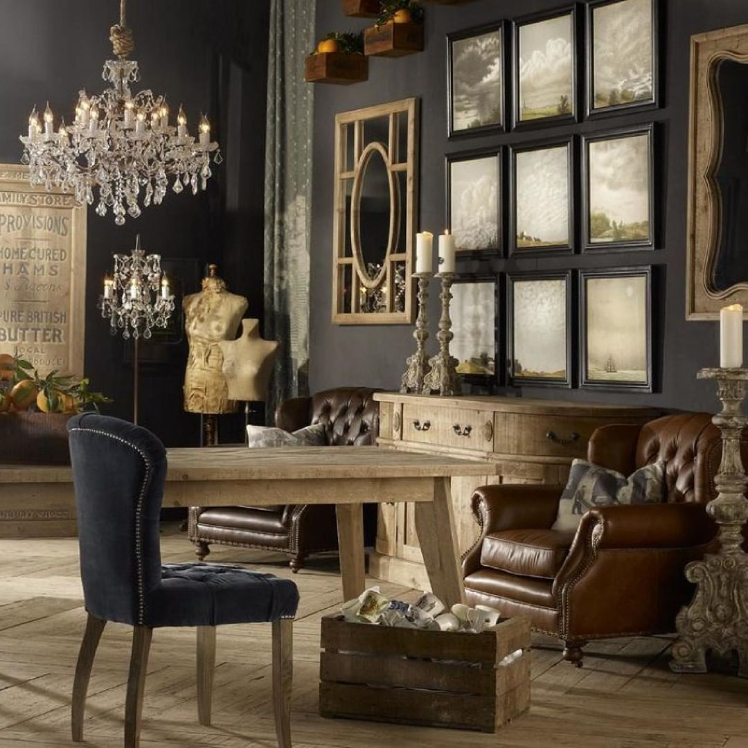 When Working Towards European Interior Design Use Colors That Are Rich Plea Vintage Living Room Vintage Interior Design Living Room Vintage Living Room Decor