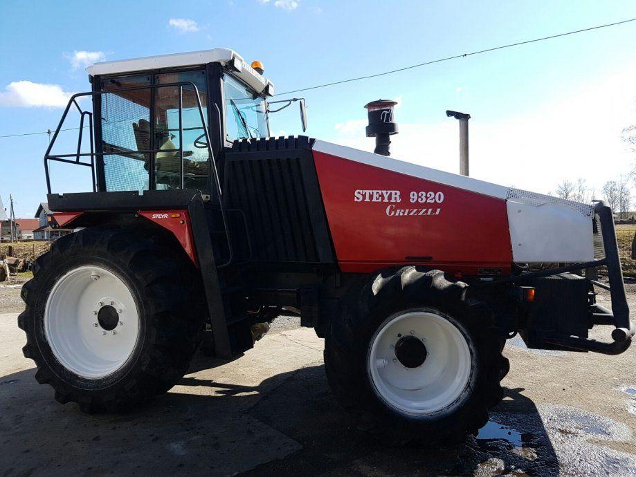 Ii Traktor Steyr Traktor Steyr Grizli 1997 God 320 Ks 3800 Rs Orginal Steyr Tractors Old Tractors