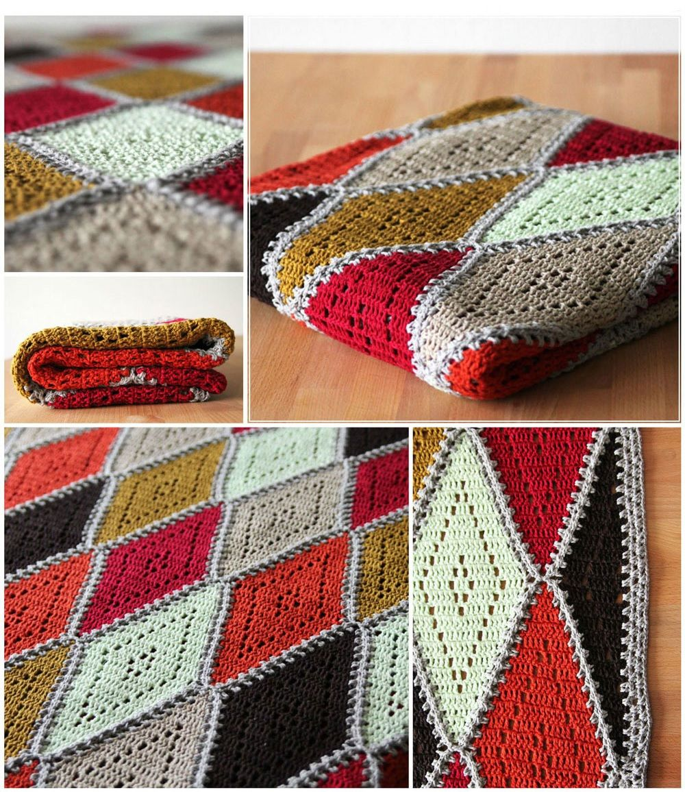 Crochet blanket | Pinterest