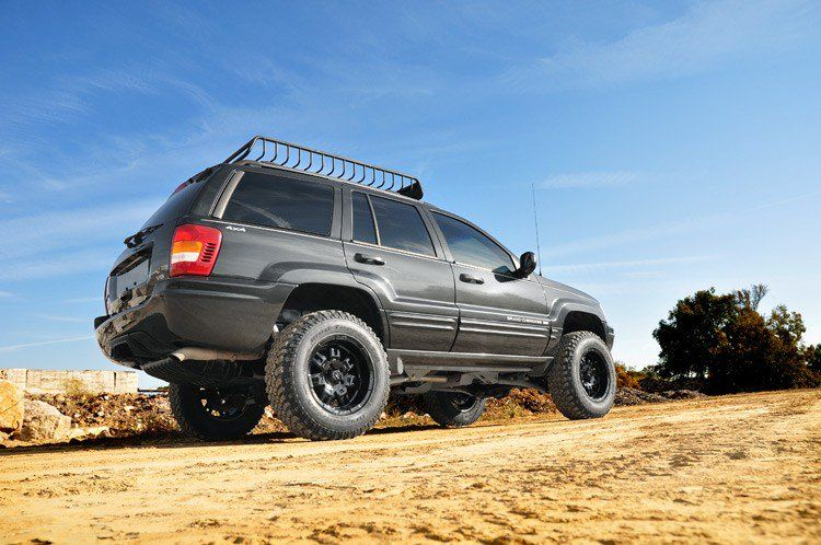 4in Jeep Long Arm Suspension Lift Kit 99 04 Grand Cherokee Wj