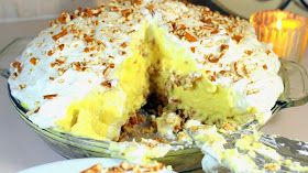 Inspired By eRecipeCards: Mile High BANANA CREAM PIE With Pretzel Crust - 52 Cakes and Pies for Home