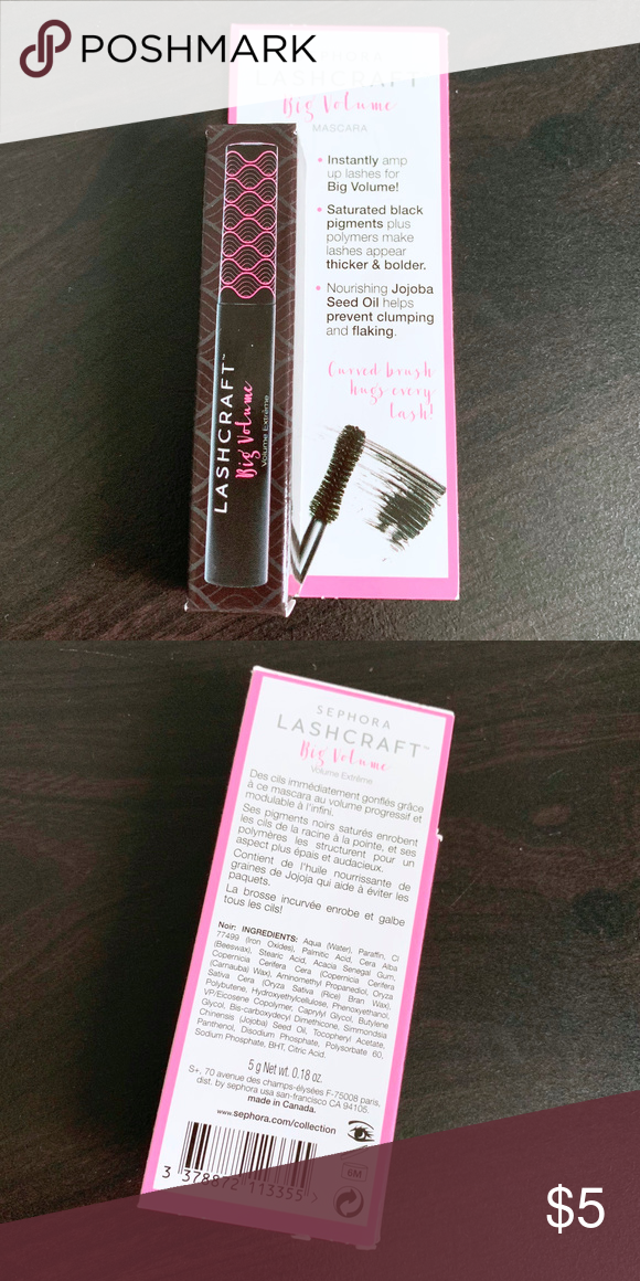 55fe7c8f1eb Sephora || NEW LashCraft Mascara Mini SEPHORA COLLECTION LashCraft Big  Volume Mascara Mini. 0.18