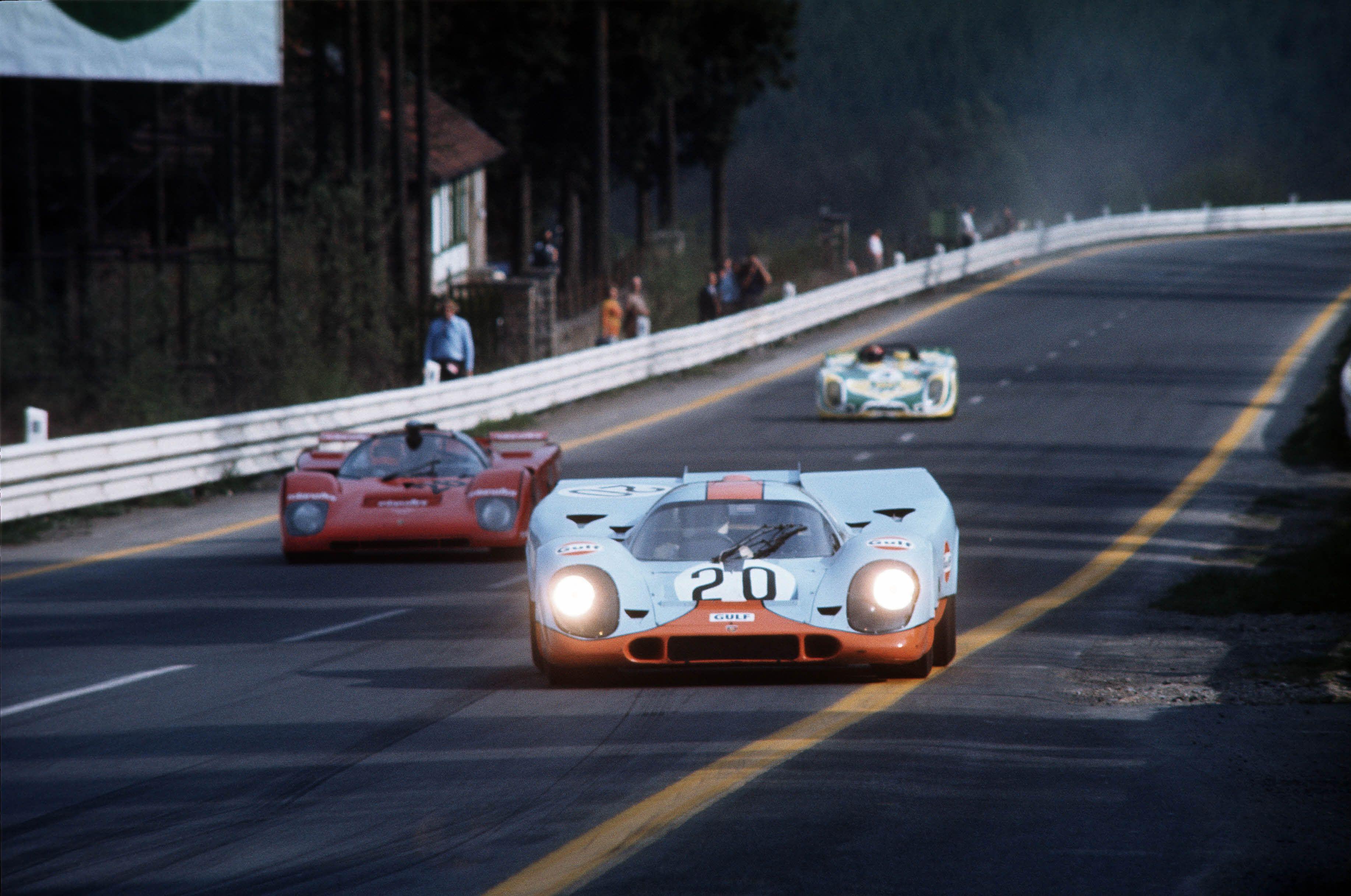 Jo Siffert Brian Redman 20 Porsche 917k John Wyer Automotive