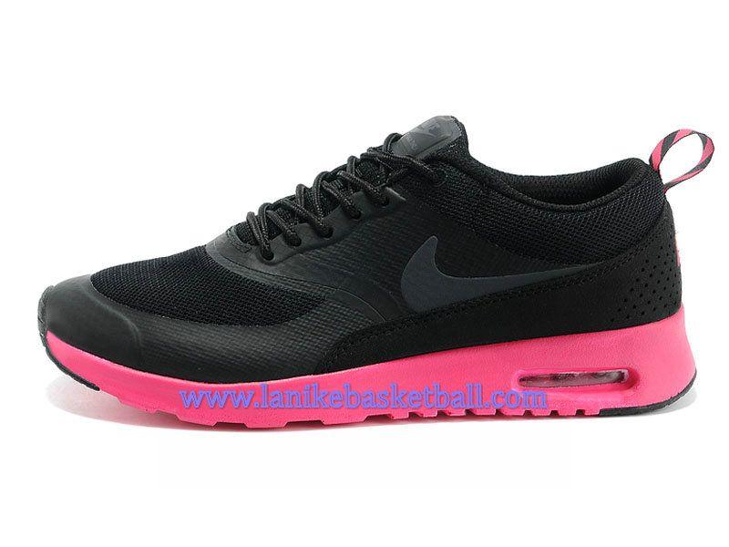 Nike Air Max Thea Print Chaussure Pour Femme/Fille Noir Rouge 599408-001A-
