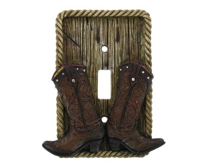 Cowboy Boots Light Switch Switch Plate Covers Light Switch Covers Switch Plates