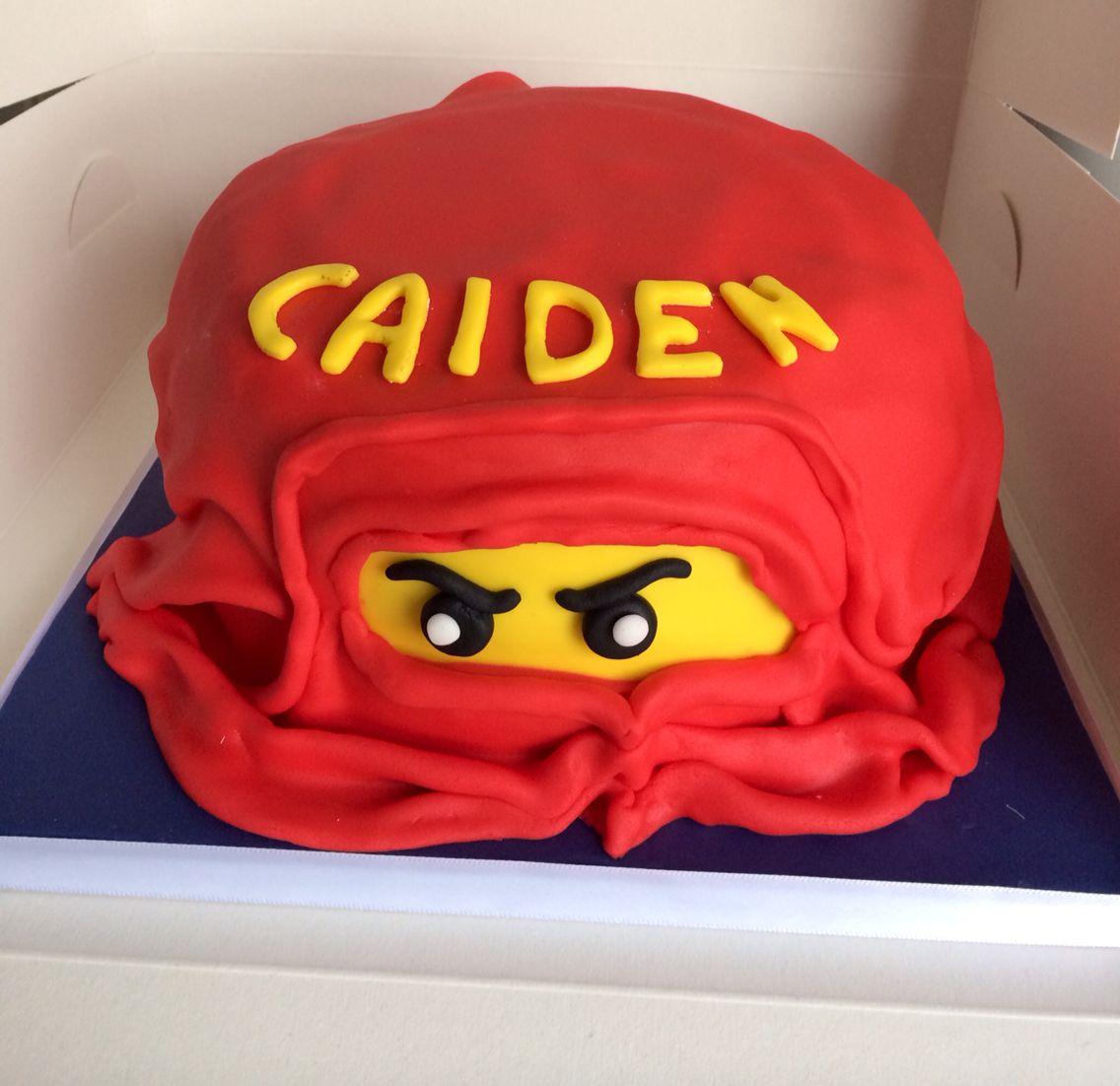 Ninja Kai Lego cake