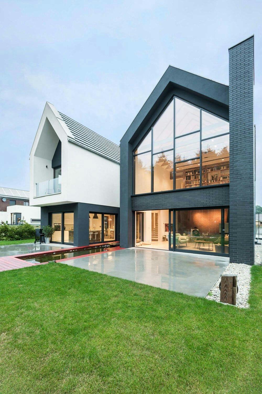 Groß Haus äußere Design Bilder Zeitgenössisch - Images for ...