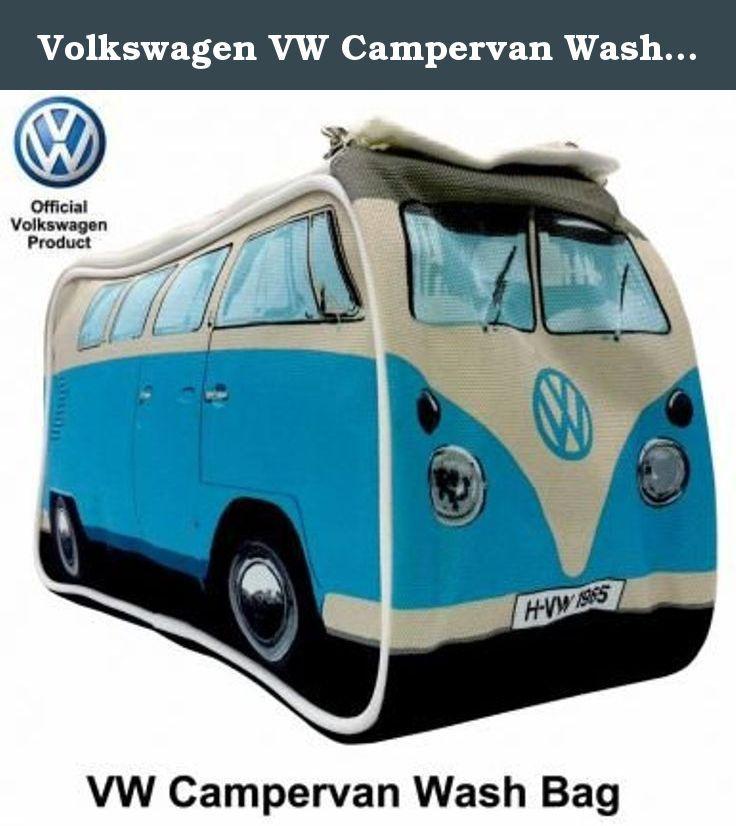 Volkswagen Vw Campervan Wash Bag Blue Washbag