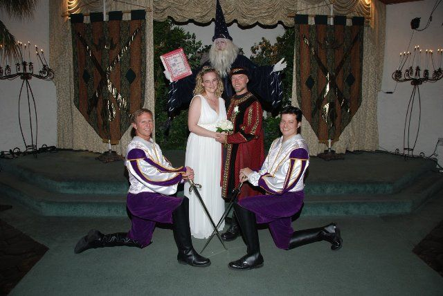 Camelot Themed Las Vegas Wedding Package
