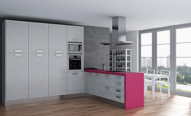 Modelos De Cocina Con Puerta Tahon Classic Plata De Cocinas