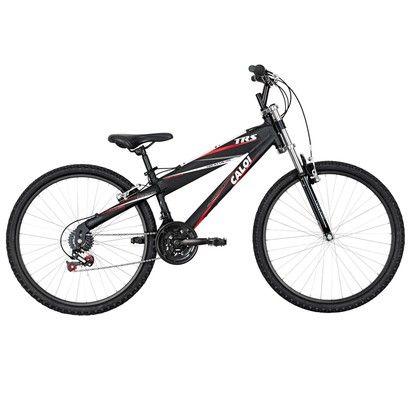 Acabei de visitar o produto Bicicleta Caloi Trs - Aro 26 - 21 Marchas - Suspensão Dianteira