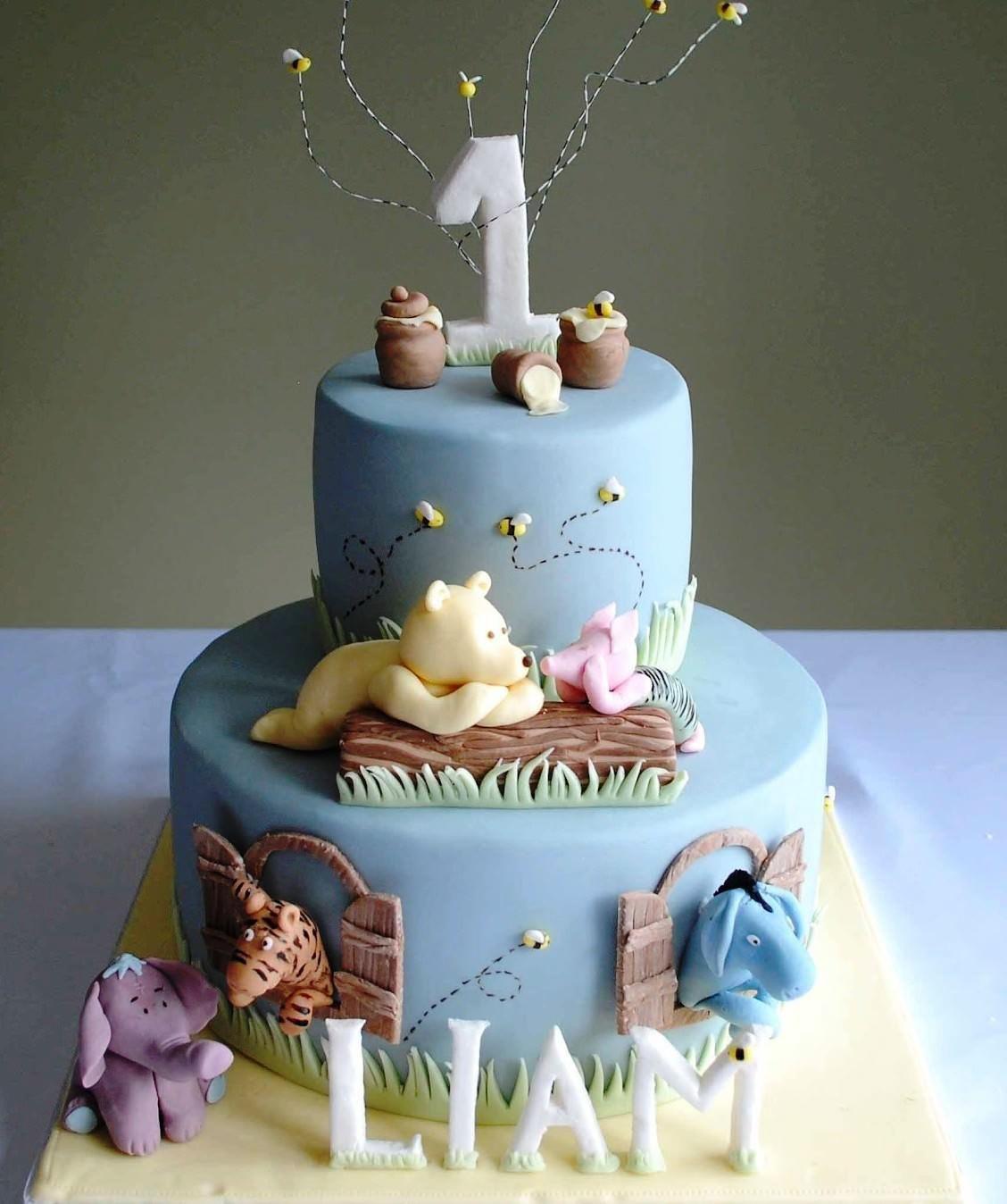 baby boy 1st birthday cake images