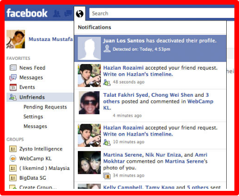 How To See Who Unfriended Me On Facebook Unfriended On Facebook