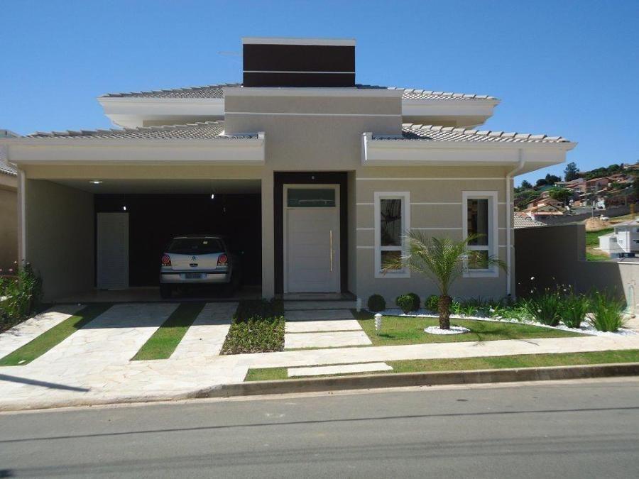 Casas de condominio terreas pesquisa google fachada de for Casas modernas brasil