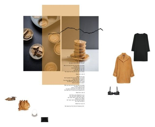 """kansas city - the new basement tapes"" by aimable ❤ liked on Polyvore featuring Gianvito Rossi, MANGO, Tory Burch, Bottega Veneta, Rochas, Warehouse and Agent Provocateur"