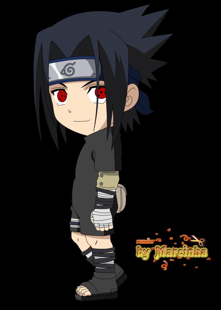 Chibi Sasuke By Marcinha20 Personagens Chibi Anime Chibi