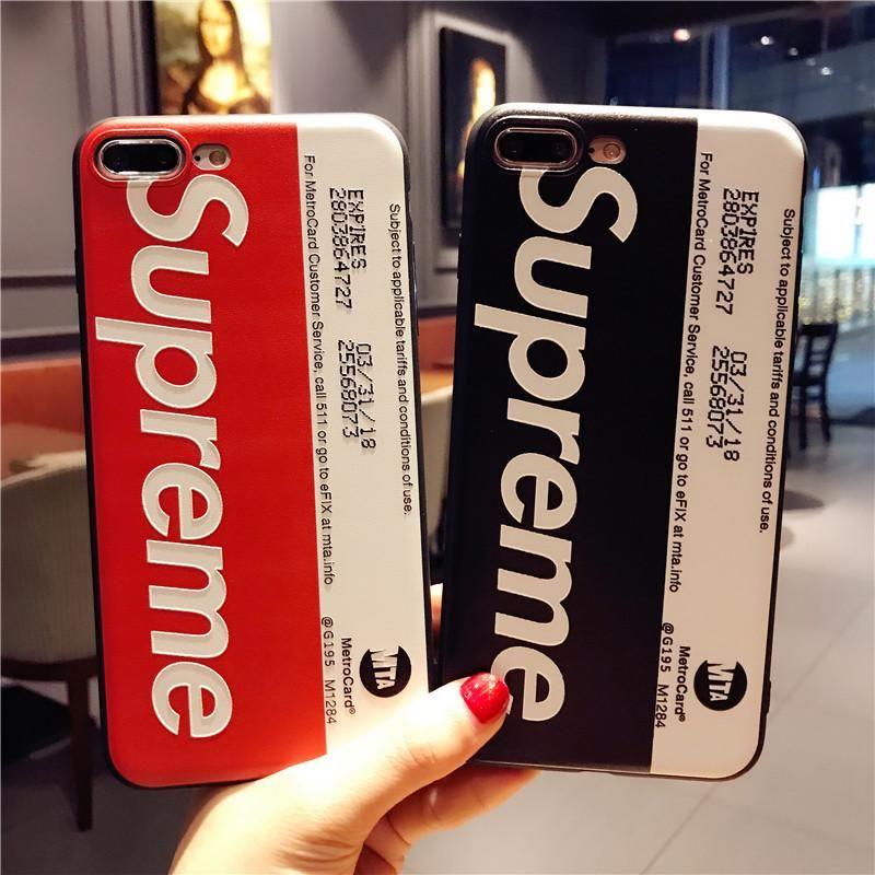 Case supreme for iphone 3d embossed 6786plus7plus