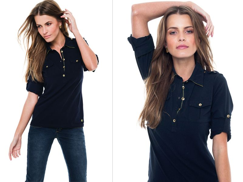 Polo Women ~ deep blue