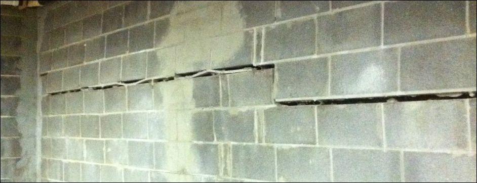 Horizontal Cracks In Basement Walls Basement walls, Home