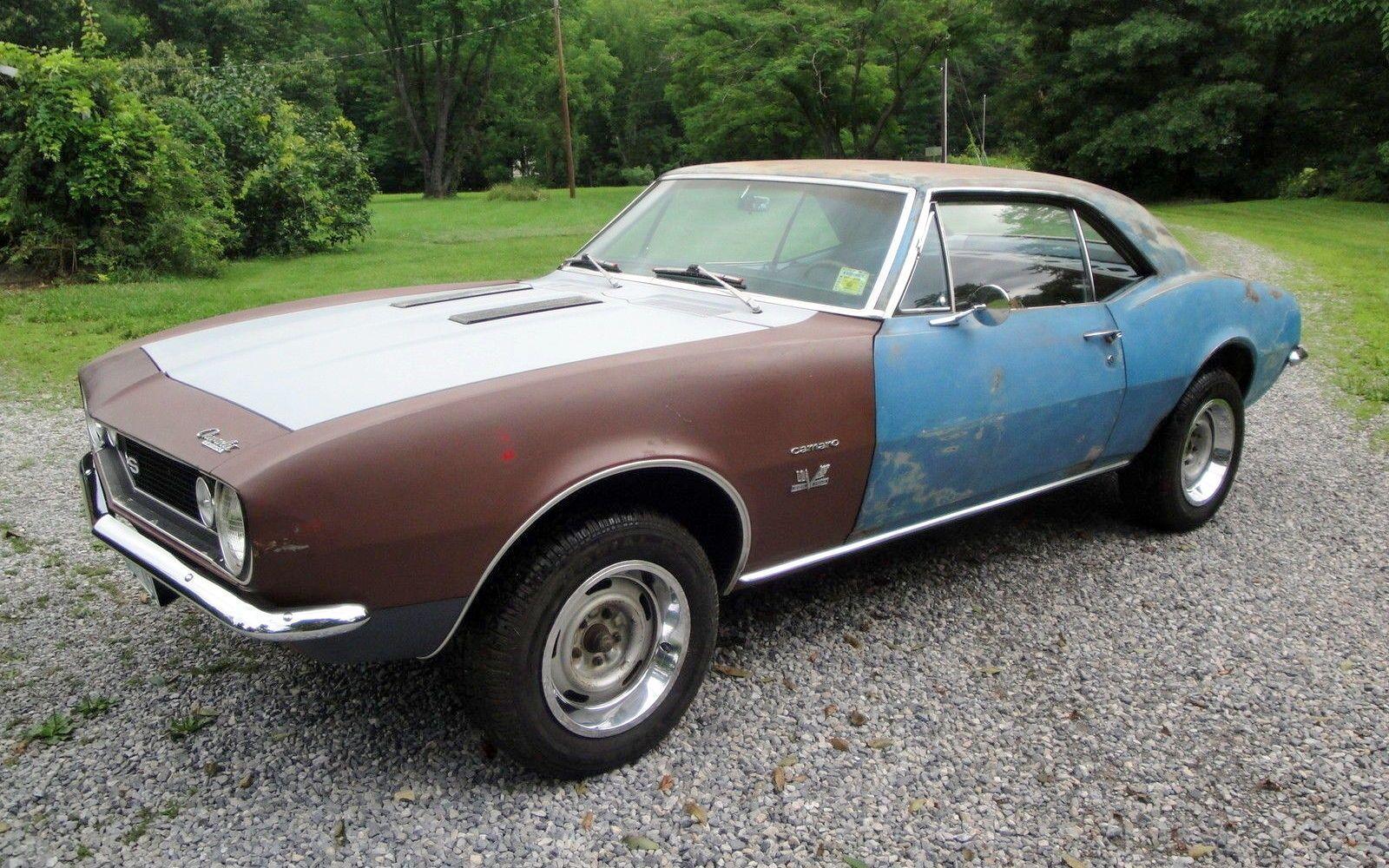 1968 Camaro Project For Sale | Camaro For Sale - Repairable Project ...