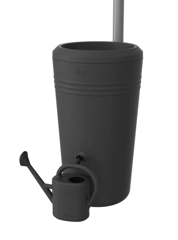 Recuperateur D Eau De Pluie Elho Green Basics Living Noir 200 L En 2020 Recuperateur D Eau Reservoir Eau Tuyau Arrosage