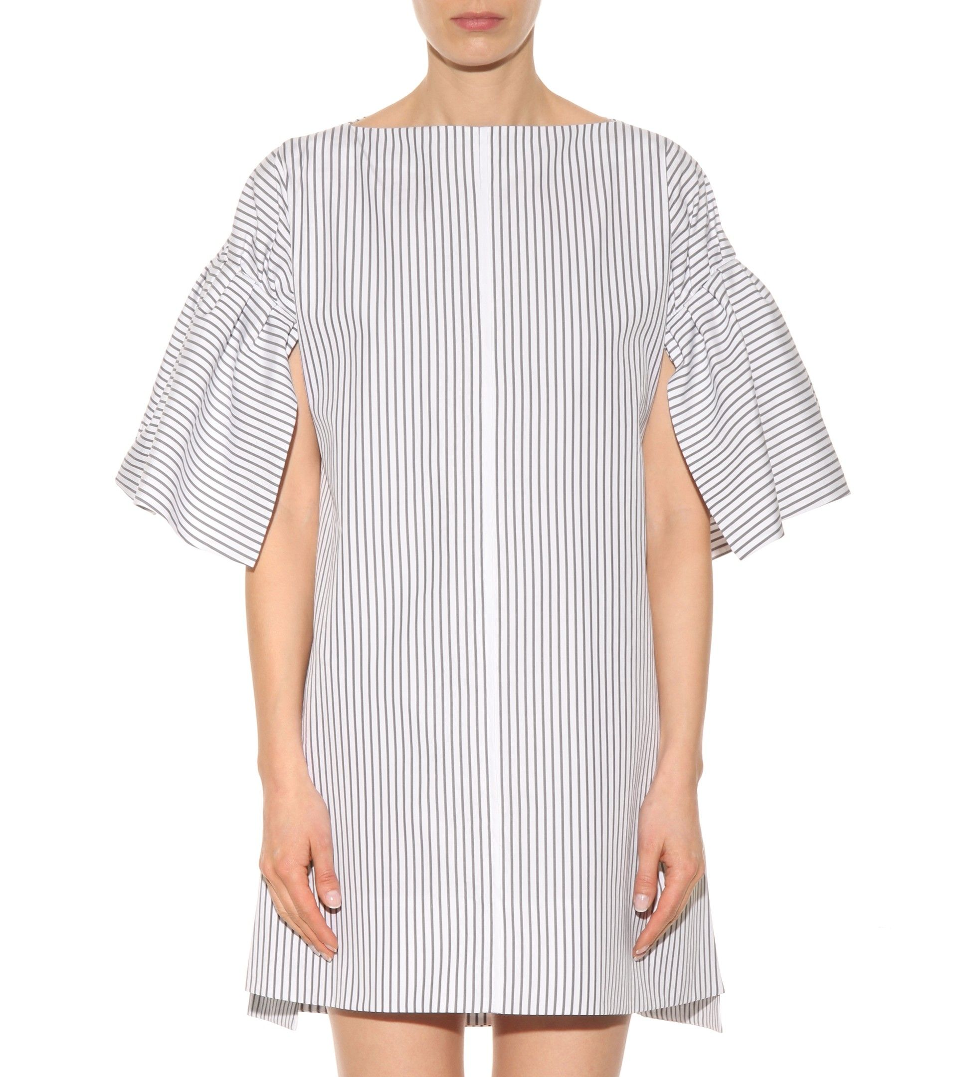 mytheresa.com - Exclusive to mytheresa.com – striped cotton dress - Dresses - Clothing - Luxury Fashion for Women / Designer clothing, shoes, bags