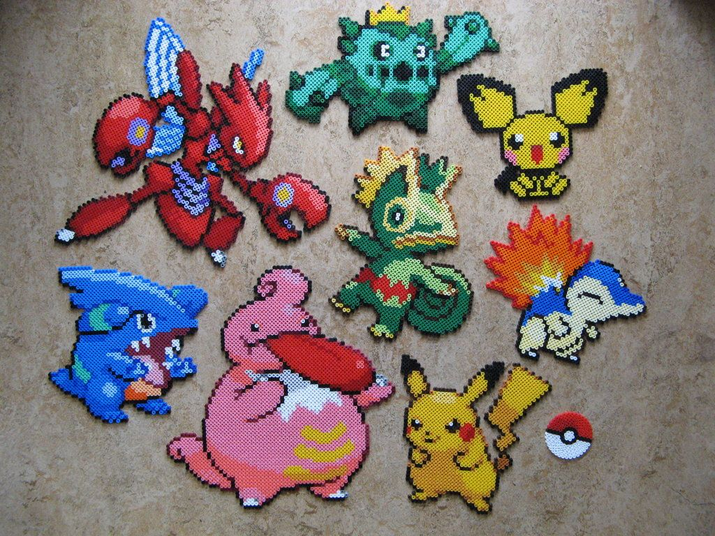 14+ Pokemon beads ideas in 2021