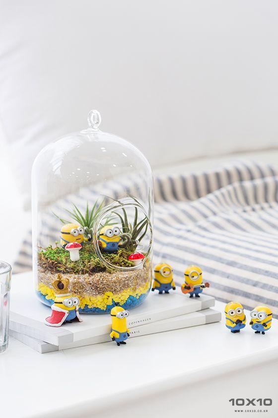 10x10 Girls Bedroom: [텐바이텐] Minions Terrarium/Photographer_BORI LEE/Stylist