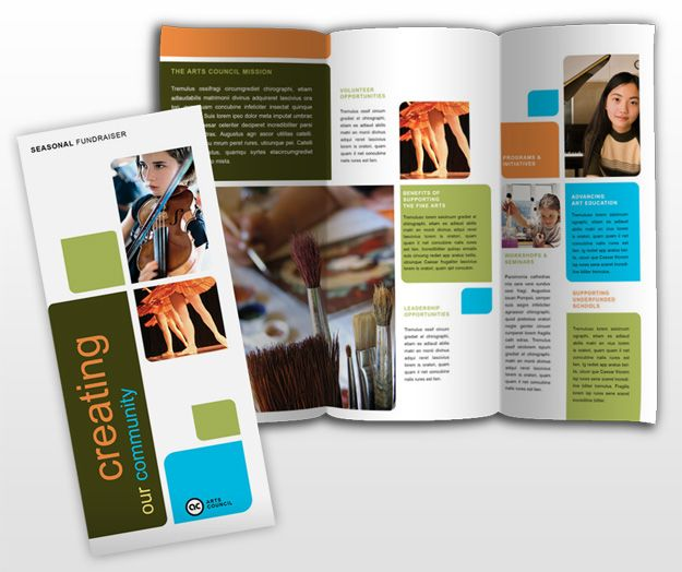 performing arts brochure Arts Council And Education - product brochures