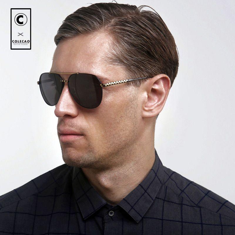 8ea878f1e1 COLECAO Summer 2018 Sunglasses Men Polarized Lenses Driving Glasses Tops  For Sight - US  55.21