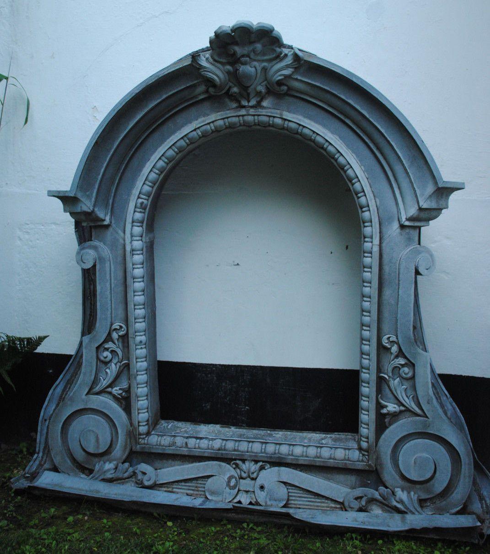 oeil de boeuf en zinc ancienne fenetre fin xix eme. Black Bedroom Furniture Sets. Home Design Ideas