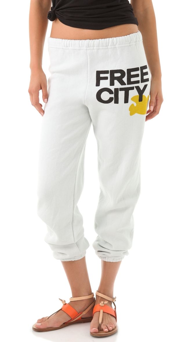 Free City White Sweatpants The Most Comfortable Sweatpants Right Here Sweatpants White Sweatpants Fashion