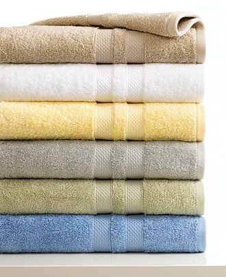 Macys Bath Towels Prepossessing Sunham Bath Towels Supreme Collection Only At Macy's  #bath Design Ideas