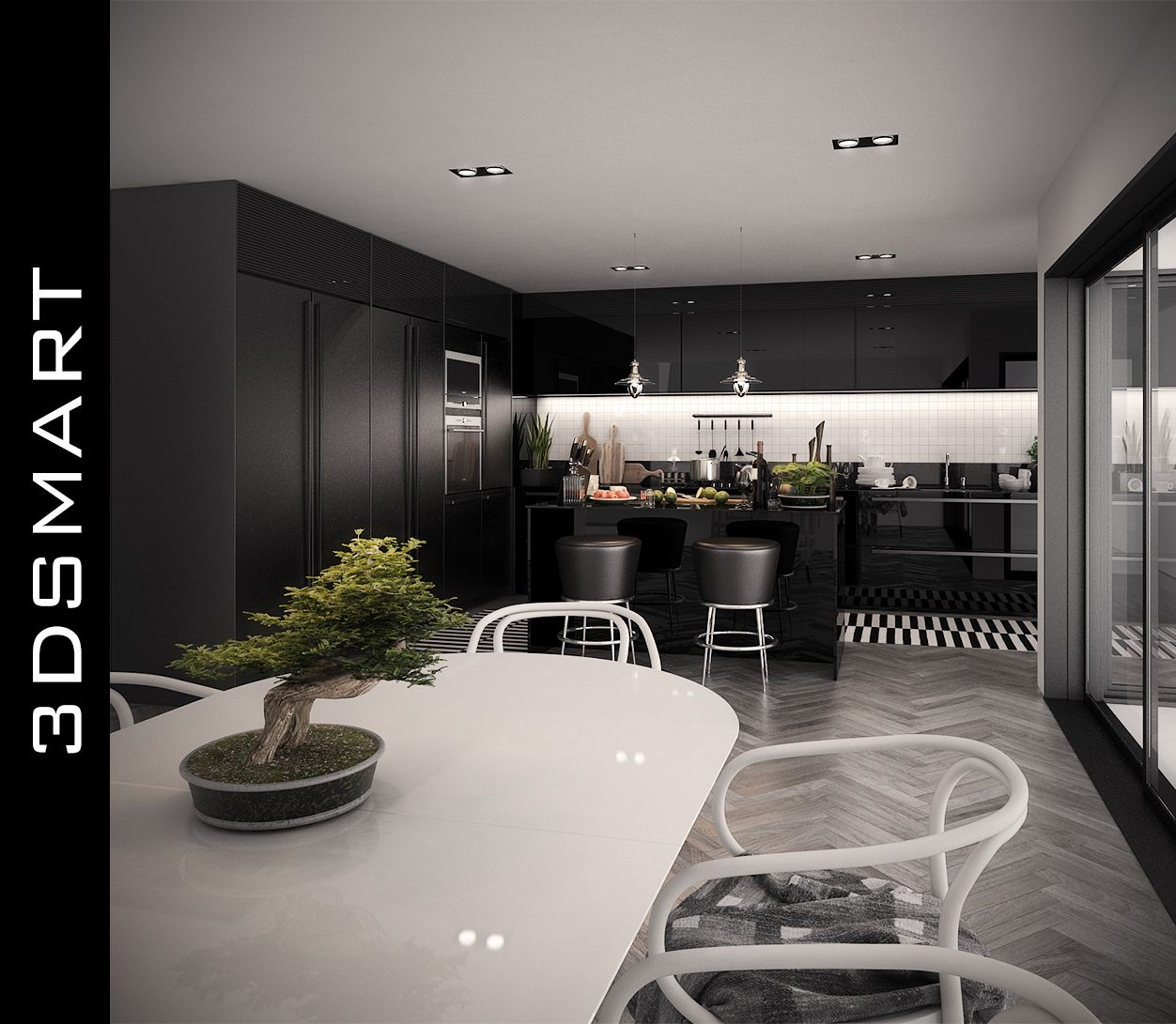 Beautiful Modern Kitchen Design By Romet Mets Used