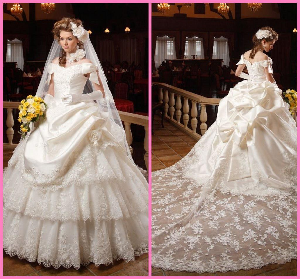 New Design Ball Gown Wedding Dress 2017 Bridal Gown Sweetheart Lace ...
