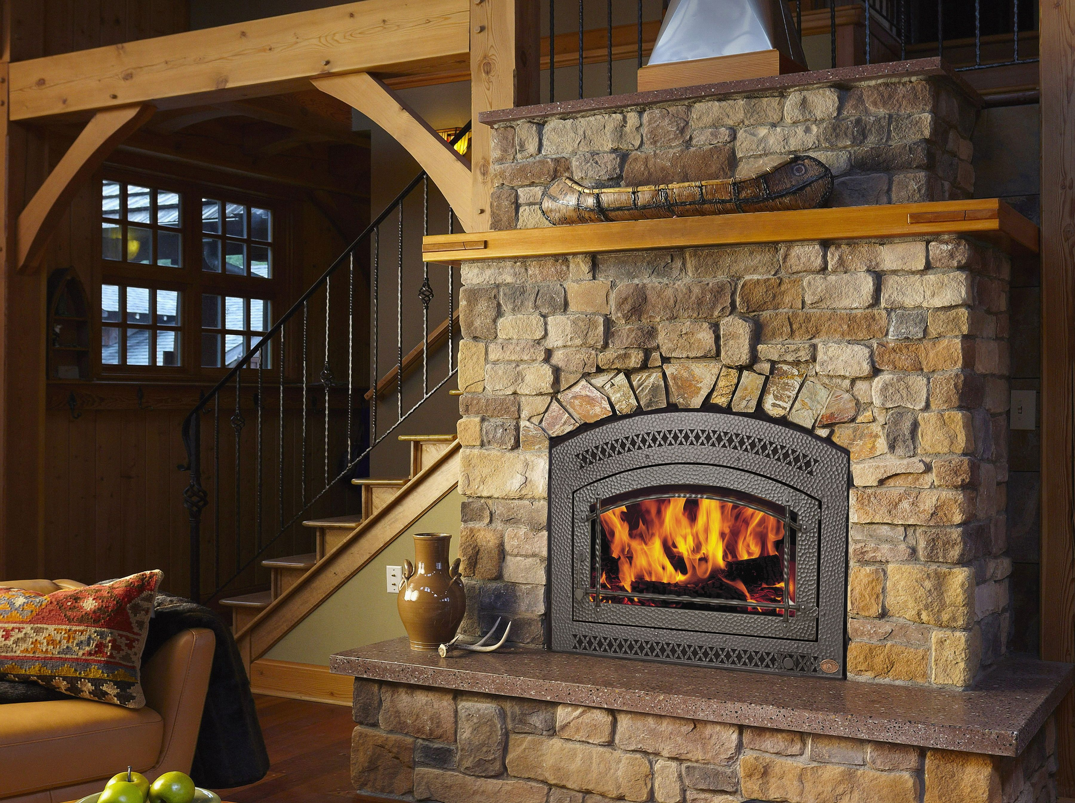 rustic gas fireplace insert o2 pilates