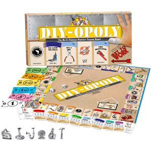 Late for the sky do it yourself opoly game stuff to make do it yourself opoly great fun family game the classic property trading game we all have come to know love only this time with a diy theme solutioingenieria Choice Image