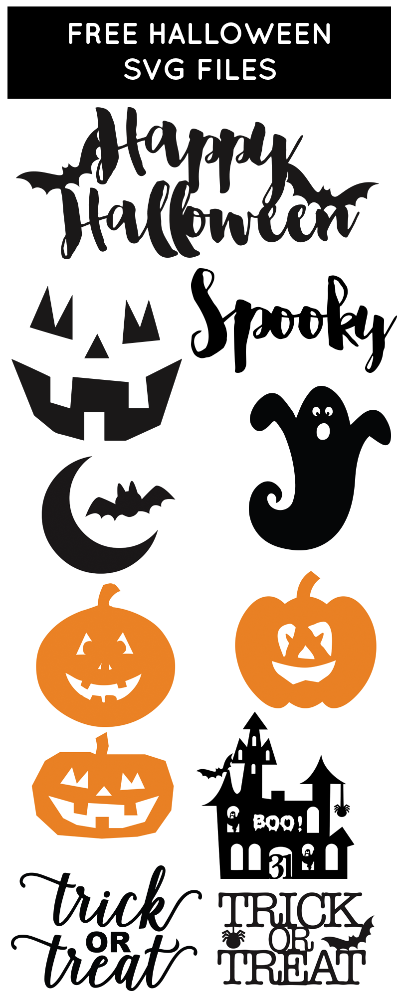 Free Halloween SVG Files from chicfetti Free SVG Files