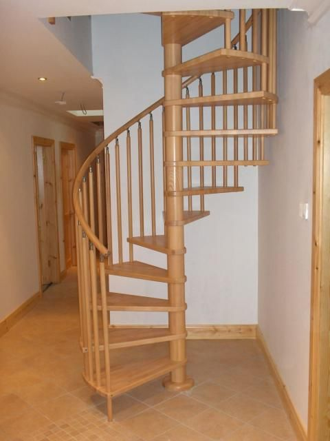 This Spiral Staircase Offers The Highest Quality With Complete Flexibility In Wood Colour So That You Can Customise Your To Required